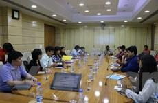 Đoàn Học viện Chính trị quốc gia Hồ Chí Minh làm việc tại Ấn Độ