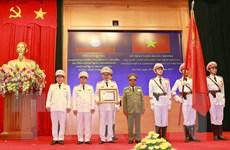 Bộ Công an đón nhận Huân chương Phát triển do Lào trao tặng