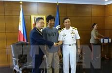 Hoàn tất thủ tục đưa thuyền viên được giải cứu tại Philippines về nước