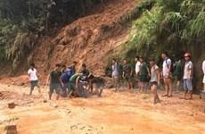 Mưa lớn ở Hà Giang: 1 người bị thương, hàng chục ngôi nhà bị tốc mái