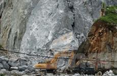 Thanh Hóa: Người dân phản đối doanh nghiệp nổ mìn khai thác đá