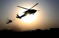 Trực thăng huấn luyện của Mỹ gặp nạn, một quân nhân mất tích