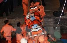 Cấp cứu kịp thời một thuyền viên Croatia bị tai nạn trên biển