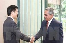 Thứ trưởng Thứ nhất Bộ Ngoại giao Cuba thăm chính thức Việt Nam