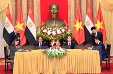 Việt Nam-Ai Cập hướng tới kim ngạch thương mại song phương 1 tỷ USD