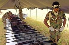 Colombia: Hoàn tất tiến trình tiêu hủy toàn bộ vũ khí của FARC
