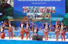 Khai mạc Ngày hội văn hóa dân tộc Dao và Lễ hội Thành Tuyên