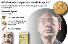 [Infographics] Nhà văn người Anh gốc Nhật đoạt giải Nobel Văn học