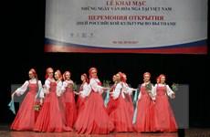 Nhiều hoạt động đặc sắc trong Những ngày văn hóa Nga tại Việt Nam