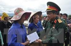Phó Chủ tịch Quốc hội thăm các gia đình nạn nhân mưa lũ ở Yên Bái