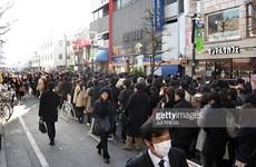 Nhật Bản: Ôtô lao vào đám đông khiến bảy người bị thương