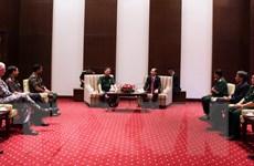 Đoàn học viên Lớp quan chức quốc phòng quốc tế thăm TP.HCM