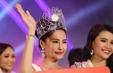 Người đẹp Lê Âu Ngân Anh đoạt vương miện Hoa hậu Đại dương