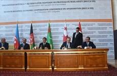 Năm nước đạt thỏa thuận xây tuyến vận tải nối châu Á với châu Âu