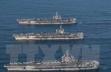 Nhật-Mỹ diễn tập rầm rộ nhằm tăng cường khả năng phòng thủ