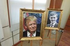 Khai mạc triển lãm tranh ghép gốm về lãnh đạo các nền kinh tế APEC