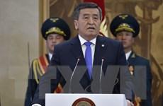 Tổng thống đắc cử Kyrgyzstan Sooronbai Jeenbekov tuyên thệ nhậm chức