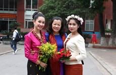 Sôi nổi Cuộc thi sinh viên Lào hùng biện tiếng Việt lần thứ nhất