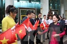 Chủ tịch Quốc hội Nguyễn Thị Kim Ngân thăm chính thức Singapore