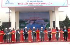 Hà Giang khánh thành nhà máy thủy điện trên dòng sông Lô