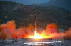 Tổng thống Mỹ-Hàn Quốc điện đàm khẩn sau khi Triều Tiên phóng tên lửa