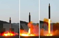 NATO và EU quan ngại về vụ phóng tên lửa mới nhất của Triều Tiên