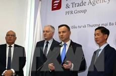 Tổng thống Ba Lan kết thúc chuyến thăm cấp Nhà nước tới Việt Nam