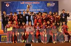 Đội TP Hồ Chí Minh 1 lên ngôi tại Giải bóng đá nữ vô địch quốc gia