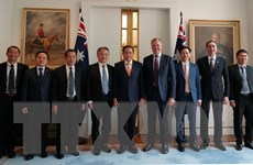 Đoàn Ủy ban Mặt trận Tổ quốc Việt Nam thăm, làm việc tại Australia