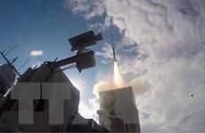 Israel đánh chặn thành công quả tên lửa được phóng từ phía Palestine