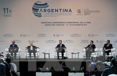 Hội nghị Bộ trưởng WTO: Kêu gọi thúc đẩy thương mại đa phương