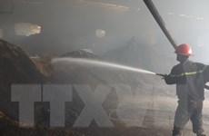 Cháy xưởng sản xuất ở Bình Dương làm hai công nhân tử vong