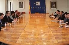 TTXVN tăng cường quan hệ với một số cơ quan báo chí lớn ở châu Âu