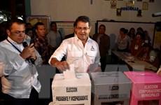 Đương kim Tổng thống Honduras chiến thắng trong cuộc bầu cử