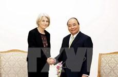 Thủ tướng Nguyễn Xuân Phúc tiếp Đại sứ Đan Mạch chào từ biệt