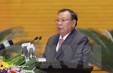 Tổng Bí thư, Chủ tịch nước Lào nói chuyện với thế hệ trẻ Việt Nam