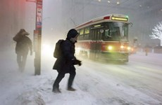 Nhiệt độ tại khu vực lạnh giá nhất của Canada xuống tới -42 độ C