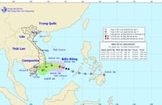 Cơn bão số 1 sẽ suy yếu thành áp thấp nhiệt đới trong 12 giờ tới