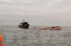 Tàu hàng đâm chìm một tàu cá, 15 thuyền viên rơi xuống biển