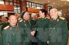 Gặp mặt cán bộ quân đội nghỉ hưu, nghỉ công tác khu vực phía Nam
