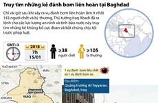 [Infographics] Truy tìm những kẻ đánh bom liên hoàn tại Baghdad