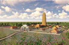 Xây dựng tòa Đại bảo tháp cao 99m tại Thiền viện Trúc Lâm Tháp Mười