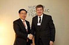 Hoạt động của Phó Thủ tướng Vương Đình Huệ tại Diễn đàn Davos