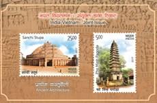 Việt Nam-Ấn Độ phát hành tem chung kỷ niệm 45 năm quan hệ ngoại giao