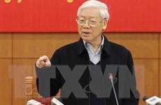 Tổng Bí thư Nguyễn Phú Trọng trả lời phỏng vấn của TTXVN