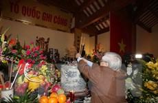 Tổng Bí thư dâng hương tưởng niệm đồng chí Nguyễn Đức Cảnh