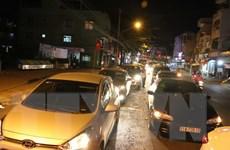 Ùn tắc xe liên tục nhiều giờ ở hai bến phà An Hòa và Vàm Cống