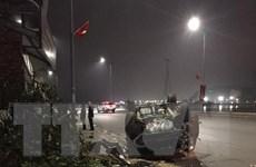 Quảng Ninh: Va chạm liên hoàn khiến ba ôtô con hư hỏng nặng