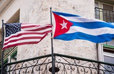 Đoàn nghị sỹ Mỹ tới Cuba để thúc đẩy quan hệ song phương