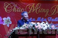 Ấm áp gặp mặt đầu Xuân Mậu Tuất của Hội đồng hương Xiangkhouang